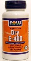 כמוסות ויטמין E-400 יבש