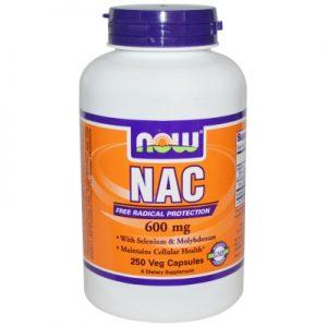 NAC נ- אצטיל ל- ציסטאין